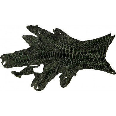 Genuine hen skin HSKIN01 Dark Green