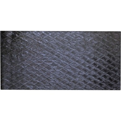 Genuine chicken leather panel HSKPAN01 Black