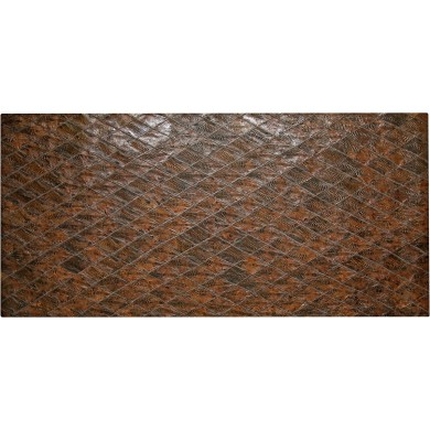 Genuine chicken leather panel HSKPAN01 Brown