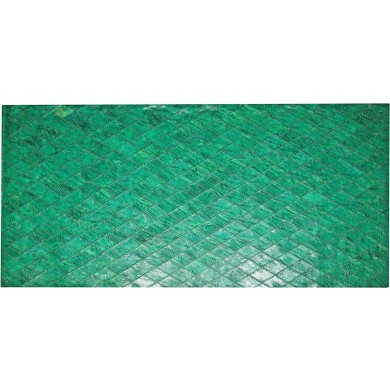 Genuine chicken leather panel HSKPAN01 Green