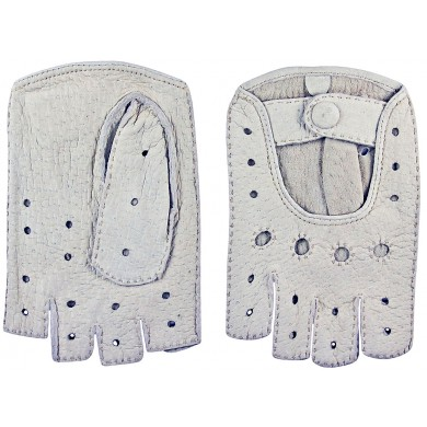 Genuine peccary leather gloves PECGL03 Beige