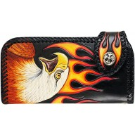 Genuine cow leather wallet CWLF79 Eagle