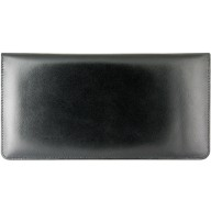 Genuine cow leather wallet JS1628 Black