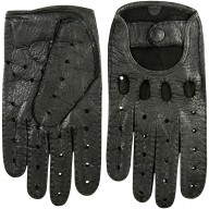Genuine peccary leather gloves PECGL02 Black