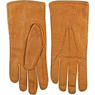 Genuine peccary leather gloves PECGL04 Tan