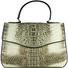 Genuine alligator leather bag 8805-11 Natural