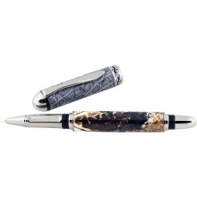 Alligator bone / leather rollerball pen ALPEN20-BT Grey