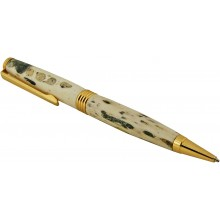 Alligator bone ballpoint pen ALPEN30-GT