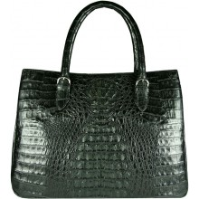 Genuine alligator leather bag BCM189 Black