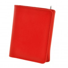 Premium cow leather handmade wallet EL-PM-2 Red