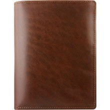 Genuine buffalo leather wallet BW03 Brown