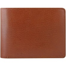 Genuine buffalo leather wallet BW08 Brown
