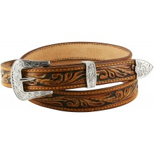 Genuine cow leather belt CVBELT002 Brown
