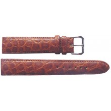 Genuine crocodile leather watch band CWB001 Tan