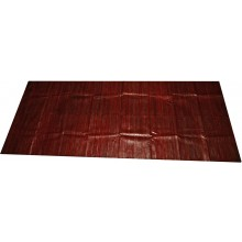 Genuine eel leather panel EELSK01 Wine