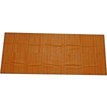 Genuine eel leather panel EELSK02S Camel