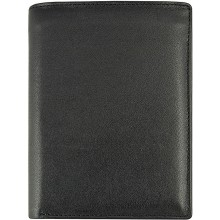 Genuine cow leather wallet FA202FN Black
