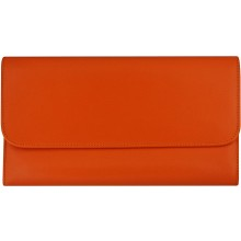 Genuine cow leather wallet FA206FOR Orange