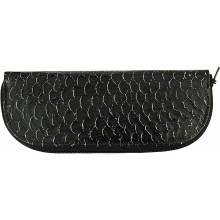 Genuine fish leather knife / glasses case FISHKNF002L GL Black