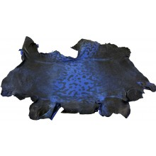 Genuine frog / toad skin FROGSK01 Royal Blue