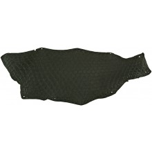 Genuine fish skin FSK01-NL-BA Black
