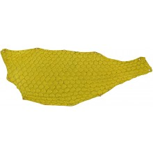 Genuine fish skin FSK01-NL-YE Yellow