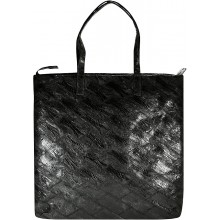 Genuine chicken / hen leather bag HBAG8828 Black