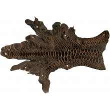 Genuine hen skin HSKIN01 Brown