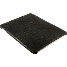 Genuine crocodile leather iPad case IPAD-SC45HB Black