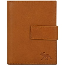 Genuine moose leather wallet MOOSEW207 Tan