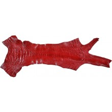 Genuine ostrich leg skin OSSKIN002 Red