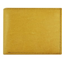 Genuine cow leather wallet P14 Beige
