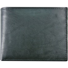 Genuine cow leather wallet P16 Black