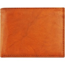 Genuine cow leather wallet P16 Brown