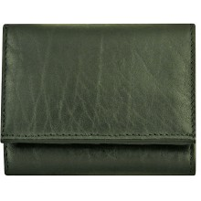 Genuine cow leather wallet P3 Black