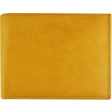 Genuine cow leather wallet P40 Tan