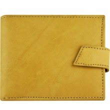 Genuine cow leather wallet P41 Beige