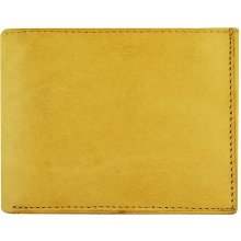 Genuine cow leather wallet P4 Beige