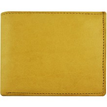 Genuine cow leather wallet P5 Beige
