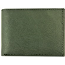 Genuine cow leather wallet P5 Black