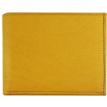 Genuine cow leather wallet P5 Tan