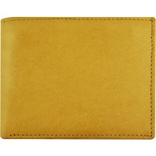 Genuine cow leather wallet P6 Beige