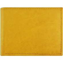 Genuine cow leather wallet P8 Tan