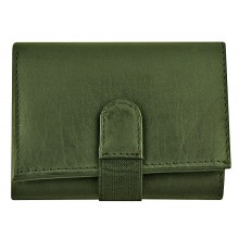 Genuine cow leather wallet P9 Black