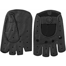 Genuine peccary leather gloves PECGL03 Black