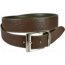 Genuine shark leather belt SHARK105 Brown