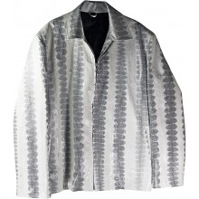 Genuine snake leather jacket SNJACKET01 Bone