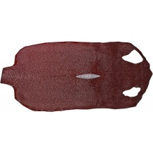 Genuine stingray skin STSKIN-L Burgundy D022