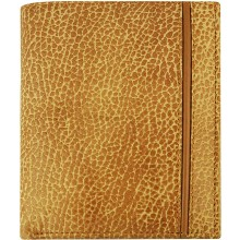 Genuine cow leather wallet TD03-03 Tan