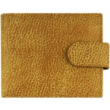 Genuine cow leather wallet TD1061 Tan